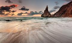 Ursa (FredConcha) Tags: sunset pordosol rock nikon sigma 1020 pedra ursa d90 praiaursa fredconcha
