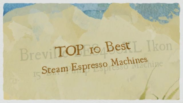 From espresso machines italy professional
