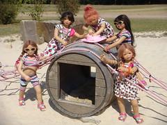Abenteuer Spielplatz Naturbad Olfen (Kindergartenkinder) Tags: dolls kindra tivi setina annettehimstedt annemoni kindergartenkinder himstedtkinder sanrike naturbadolfen