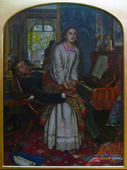 William Holman Hunt, The Awakening Conscience, 1853