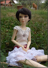 LEIA (Ediik) Tags: shirt ball butterfly doll child crochet jewelry skirt wig bjd ba moxie leia yolanda msd jointed teenz monigue impldoll blacksvetlus