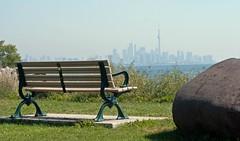 View of Toronto Skyline (Dan Armishaw) Tags: sky lake toronto ontario canada tower skyline cn cntower colsamuelsmithpark