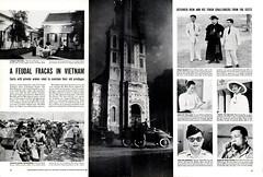 LIFE Magazine,  18 April 1955 - A FEUDAL FRACAS IN VIETNAM