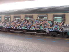 Immagine 121 (en-ri) Tags: train writing torino graffiti sock kong nebbia 2012 fumo truc sken hass zeal ekser moekito