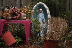 2074 the virgin known as Mary (Violentz) Tags: virginmary thevirginknownasmary mary virgin mother holymother blessedmother blessed hailmary handmaidenofthelord statue lawnstatue madonna holy icon god bible stjoseph babyjesus jesus ourlady ourladyofgrace ourladyofguadalupe ourladyoflourdes ourladyoffatima miriammotherofisa motherofgod bethlehem israelite jew nazareth galilee christianity catholic religion thetheotokos heymarywatchagonnanamethatprettylittlebaby