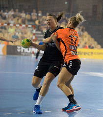 17210212 (roel.ubels) Tags: handbal eindhoven vierlandentoernooi nederland oranje holland montenegro sport topsport 2016