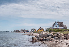 Heiligenhafen (Baltic Sea; Germany) (MarcoKiel) Tags: heiligenhafen balticsea ostsee graswarder strandhuser beachhouses