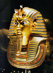 Gold Mask of Tutankhamun (Anthropology & Archaeology) Tags: egypt tutankhamun cairo archaeology mask