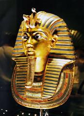 Gold Mask of Tutankhamun (Anthropology & Archaeology) Tags: egypt tutankhamun cairo archaeology mask