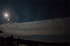 Wolkenband am Mondhimmel (blasjaz) Tags: blasjaz mond mondschein wolke wolkenband homberg hombergohm