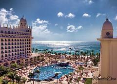 Riu Palace Pool & Beach (Mambo'Dan) Tags: arubariupalacepoolbeach aruba palm beach trees travel blue ocean blueoceanwaters