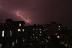 || Sky Rages iii || (Athai Islam) Tags: thunder storm weather night nightscape city cityscape long exposoure rain light lightening thunderbolt