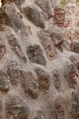 DSC_0894 (Sciabby) Tags: sicily sicilia sciacca filippobentivegna facce faces stone pietra castelloincantato artbrut