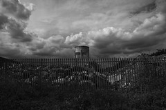 The Monolith (dwimagesolutions) Tags: england essex stanfordlehope bw postindustrial nikond7200 sigma1020mmf456