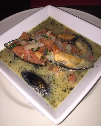 #Trappas #Mussels #Appetizer #EnglishHARBOUR  #Antigua❤️...