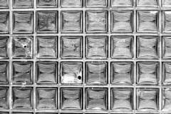 glass brick [analog] (__J) Tags: glass glasbaustein glassblock glassbrick berlin neuklln hermannstrase pattern muster abstract hole graffiti canona1 a1 canon canonfd 50mm canonfd50mm18 film analog scanned scan analogue blackandwhite schwarzweis sw bw chm400 iso400 monochrome monochrom