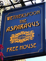 Asparagus (Draopsnai) Tags: asparagus pub pubsign wetherspoons batterseaparkroad battersea falconrod wandsworth