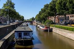 Groningen (isobrown) Tags: boats boat bateaux bateau pniche groningen groningue netherlands nederland paysbas canal streetview street water river dutch city quai riverside