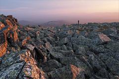 (Kirill & K) Tags: summer bashkiria southernural mountain iremel nature sunset granite boulder evening sunlight mist haze