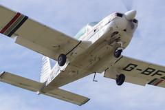 FInals 03 (Al Henderson) Tags: gbfzo aa5 airport american aviation cranfield bedfordshire grumman egtc england unitedkingdom gb
