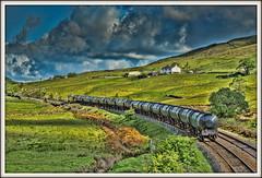 Journey to another place (david.hayes77) Tags: 2015 6m32 bitumen copypit lancashire northwest tug class60 60085 arty cornholme caldervalley calderdale