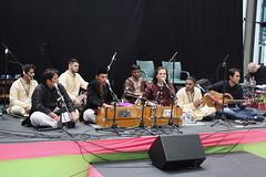 London Mela (2016) 26 - Hussain Brothers Qawwali (KM's Live Music shots) Tags: worldmusic greatbritain sufimusic qawwali hussainbrothersqawwali londonmela thedrumatwembley