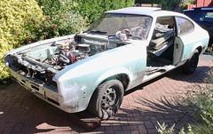 W.I.P. (Lazenby43) Tags: capri ford restoration mk3