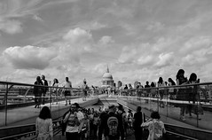 DSC_0712 (janeewillis) Tags: city architecture walk sky stpauls cathedral thames river people millennium bridge london