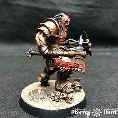 Angron Thal'Kr, Lord of the Red Sands (9) (KrautScientist) Tags: 30k horusheresy worldeaters gladiator conversion kitbash angron primarch lord red sands