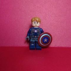 Captain America (Vladislav Pavlovich) Tags: lego custom minifigure captainamerica marvel