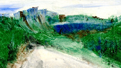 route 11 (Frdric Glorieux) Tags: frdricglorieux france route road peinture painting acryl