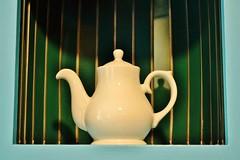 Time for Tea (DJMGlasgow) Tags: tea teapot willowtearooms glasgow scotland mackintosh colourful green