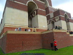 Somme Commemorations Thieipval 1st July 2016 (~ l i t t l e F I R E ~) Tags: somme 1916 2016 theipval commemorations cameron holland princecharles prinewilliam poppy red memorial arch cornflower sailor soldier ceremonial grave headstone candid cap french english british booklet wreath invite guest chair white screen rubbing names list death dead lost wat worldwari wwi ww1 littlefire somme100