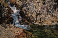 Ellis River Cascade (FotoFloridian) Tags: water river nh newhampshire whitemountains stream rocks nik green sony a6000 alpha nature