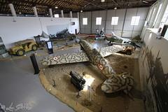 Volandia Sala Seconda Guerra Mondiale (Luca Bobbiesi) Tags: museum airplane volandia museo aerei secondworldwar malpensa canoneos7d canonefs1022mmf3545usm
