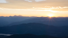 Sunrise in Colorado over the Continental Divide (brian_carisch2) Tags: colorado sunrise tenmile continentaldivide mountians gray torreys graysandtorreys layers dillonco frisco co keystone