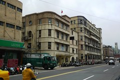 From left to right: Post Office, Bureau of Standards, Customs Building - Keelung, Taiwan (meckleychina) Tags: travel art architecture modern roc japanese asia taiwan modernism artdeco deco modernist keelong