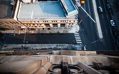 Vertigo (jeremy marshall) Tags: sky urban abandoned philadelphia skyscraper north bank explore boner forever philly abandonment scraper urbex