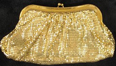 3010. Whiting Davis Clutch Bag