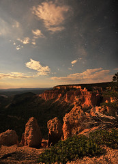 bryce canyon national park at night (houstonryan) Tags: park red 30 night landscape photography photo long exposure photographer ryan houston canyon system nighttime national photograph midnight second after bryce exposures houstonryan