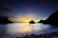 @- (monbydick) Tags: ocean sea reflection landscape nikon scenery exposure taiwan wave          d90            monbydick