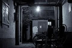 "alley entrance (bryan-roos) Tags: china flickr shanghai 中国 上海 xiaonanmen ""shanghai photographystreet 上海flickr聚会 小南门 meetupsony nex7night photographynex7"