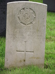 CWGC Private Clarence Frank Payton, Royal Army Service Corps. (greentool2002) Tags: grave private frank army war all saints royal corps service churchyard clarence payton brixworth remount cwgc sqdn