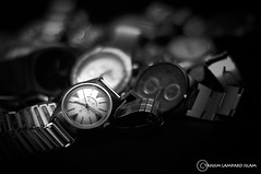 West End Watch Co. (Tanjim-ul-Islam) Tags: white black west classic 50mm prime nikon watch 8 co end catch wrist eight oclock d90 sb700