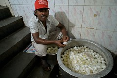 Egg sheller for Hyderabad Biryani