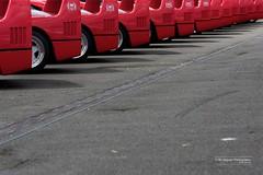 F40 line up... [Explored 30 July 2012] (BLU Jaguar) Tags: red classic cars tarmac italian wing ferrari explore silverstone supercar motorsport 2012 lineup f40 prancinghorse explored