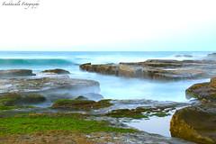 Magic Morning (Funktacula Fotography) Tags: longexposure water sunrise canon newcastle rocks surf waves australia