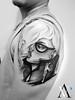 Glenn Arthur Inspired (Angelstat2) Tags: tattoo tattoos blackandgray tat2 guntattoo angelstat2 glennarthur tattooshading