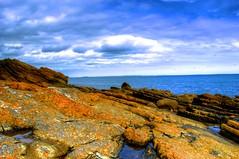 Ocean Rocks (matty117) Tags: ireland sea irish cliff newcastle coast rocks coastal northernireland hdr cliffside searocks rockpiles fallenrocks coastallandscape oceanrocks