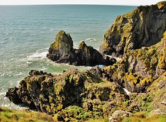 North Witch Rock (Jani Helle) Tags: scotland cliffs portpatrick dumfriesandgalloway portphdraig september2011 southuplandway northwitchrock